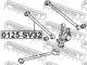 Рычаг подвески Febest 0125-SV32