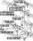 Рычаг подвески Febest 0125-USF40F3