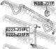 Стойка стабилизатора Febest 0223-J31FR