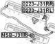 Стойка стабилизатора Febest 0223-J31RL