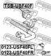 Стойка стабилизатора Febest 0123-USF40FL для Lexus LS