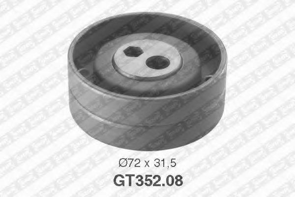 Купить Натяжной ролик ремня ГРМ, SNR GT35208