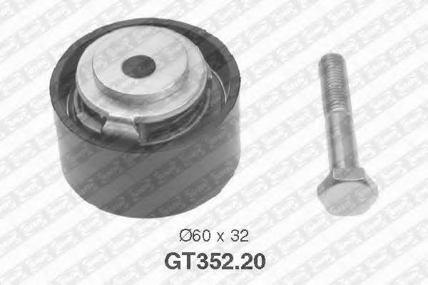 Купить Натяжной ролик ремня ГРМ, SNR GT35220