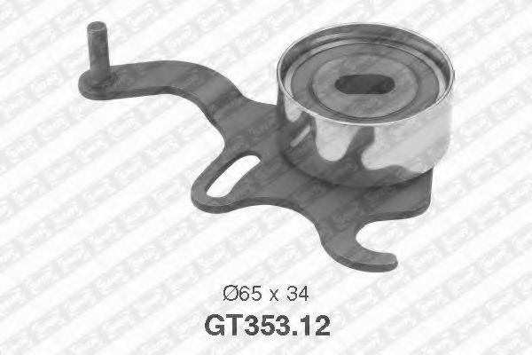Натяжной ролик ремня ГРМ, SNR GT35312  - купить со скидкой