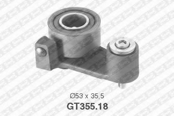 Купить Натяжной ролик ремня ГРМ, SNR GT35518