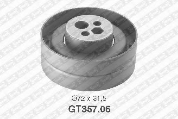 Купить Натяжной ролик ремня ГРМ, SNR GT35706