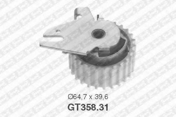 Купить Натяжной ролик ремня ГРМ, SNR GT35831