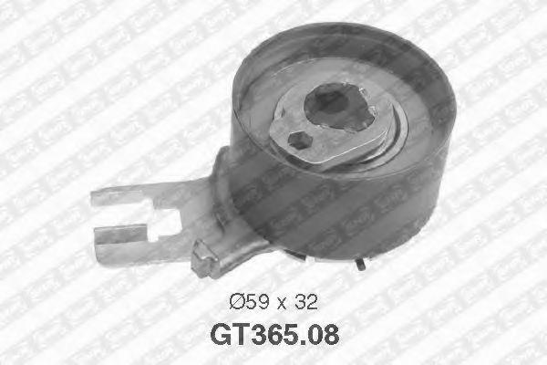 Купить Натяжной ролик ремня ГРМ, SNR GT36508