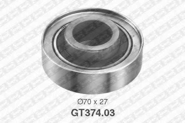 Купить Натяжной ролик ремня ГРМ, SNR GT37403