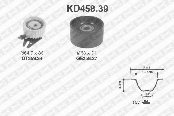 SNR kd45839