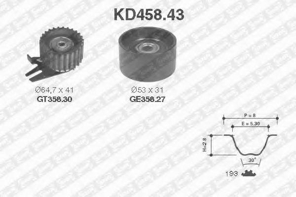 SNR kd45843