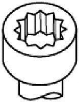 Болт ГБЦ, Payen HBS075  - купить со скидкой