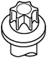 Купить Болт ГБЦ, Payen HBS373 Болт головки цилиндра