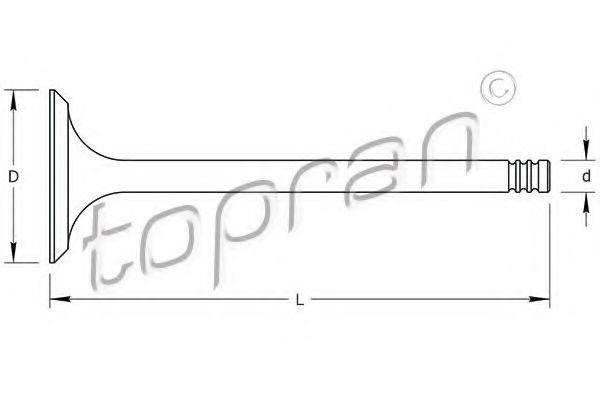 TOPRAN 205574