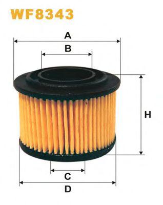 Wix Filters wf8343