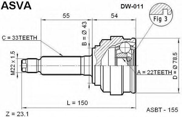 ASVA dw011