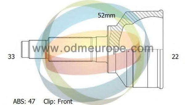 ODM-MULTIPARTS 12001913