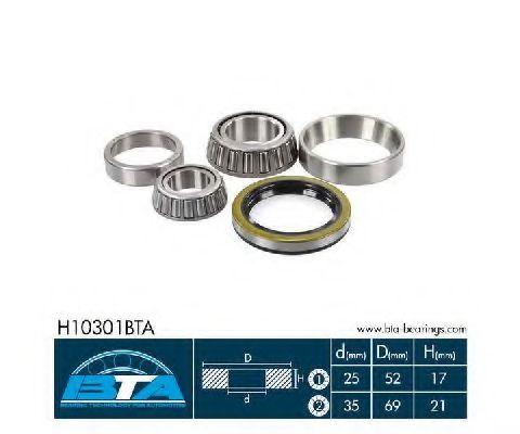 Купить Комплект ступицы колеса, BTA H10301BTA
