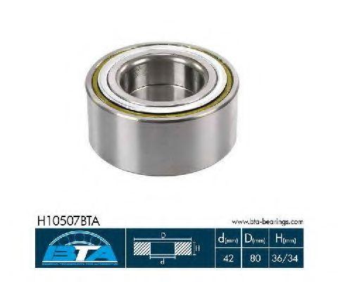 Купить Комплект ступицы колеса, BTA H10507BTA