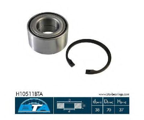 Купить Комплект ступицы колеса, BTA H10511BTA
