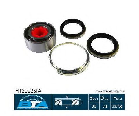 Купить Комплект ступицы колеса, BTA H12002BTA