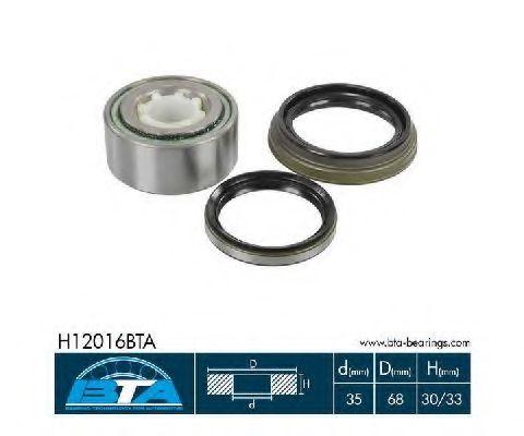 Купить Комплект ступицы колеса, BTA H12016BTA