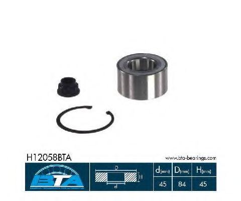 Купить Комплект ступицы колеса, BTA H12058BTA