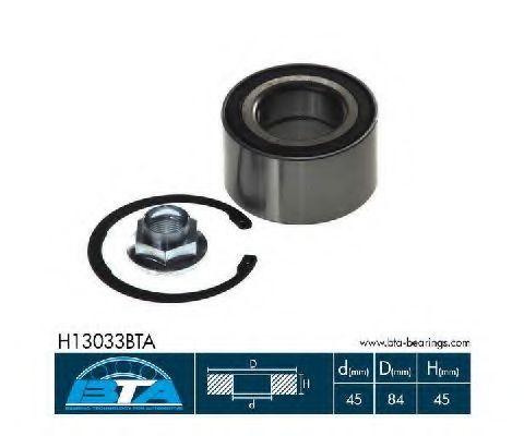 Купить Комплект ступицы колеса, BTA H13033BTA