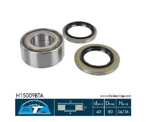 Купить Комплект ступицы колеса, BTA H15009BTA