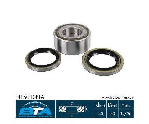 Купить Комплект ступицы колеса, BTA H15010BTA