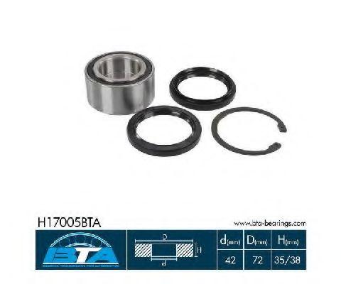 Купить Комплект ступицы колеса, BTA H17005BTA