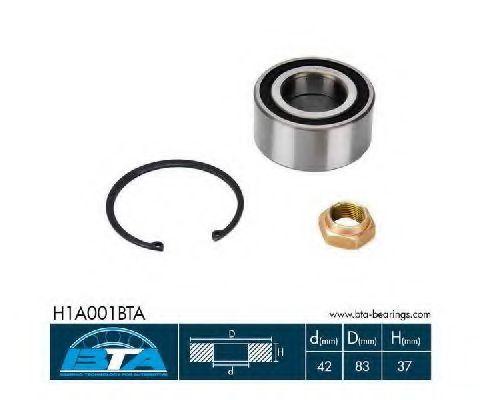 Купить Комплект ступицы колеса, BTA H1A001BTA