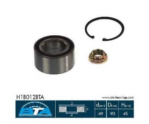 Купить Комплект ступицы колеса, BTA H1B012BTA