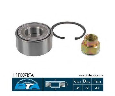 Купить Комплект ступицы колеса, BTA H1F007BTA
