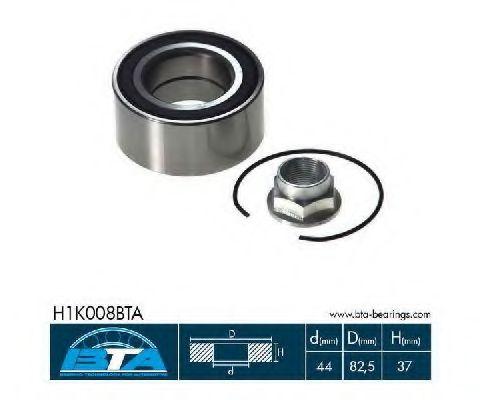 Купить Комплект ступицы колеса, BTA H1K008BTA