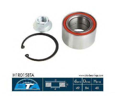 Купить Комплект ступицы колеса, BTA H1R015BTA