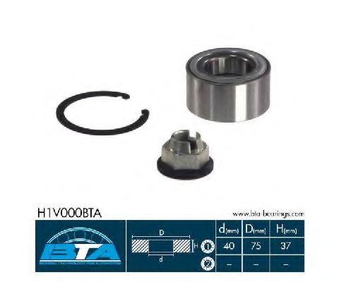 Купить Комплект ступицы колеса, BTA H1V000BTA