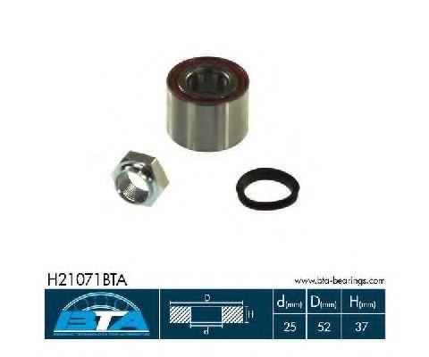 Купить Комплект ступицы колеса, BTA H21071BTA