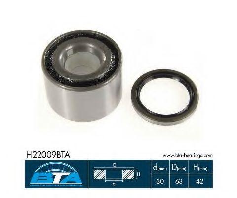 Купить Комплект ступицы колеса, BTA H22009BTA