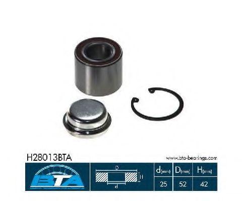 Купить Комплект ступицы колеса, BTA H28013BTA