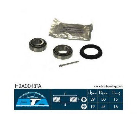 Комплект ступицы колеса, BTA H2A004BTA  - купить со скидкой