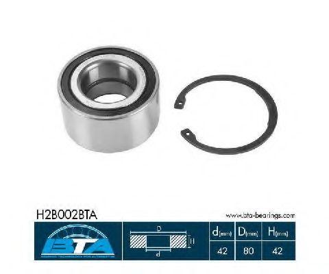 Купить Комплект ступицы колеса, BTA H2B002BTA