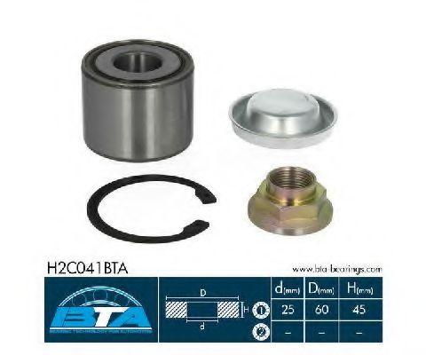 Купить Комплект ступицы колеса, BTA H2C041BTA