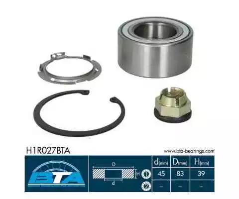 Купить Комплект ступицы колеса, BTA H1R027BTA